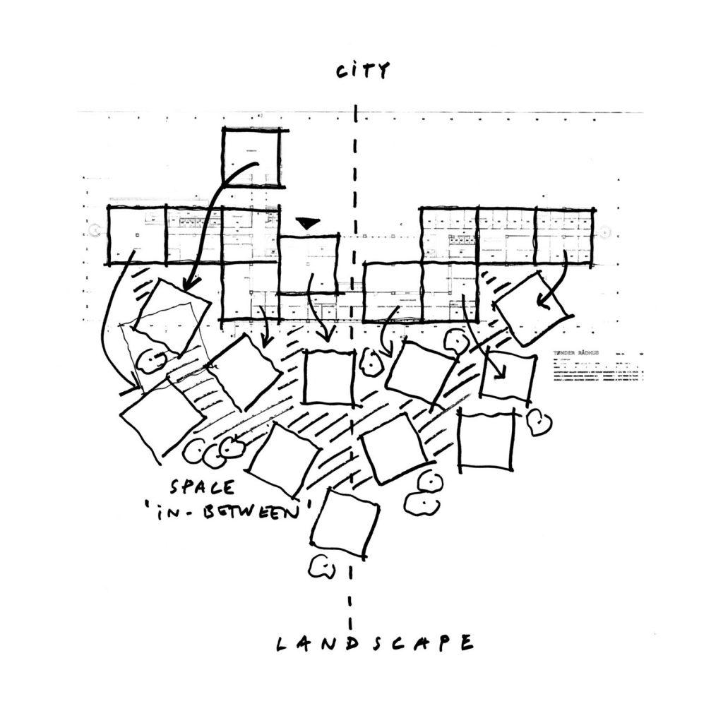 Tønder Town Hall – architekturama